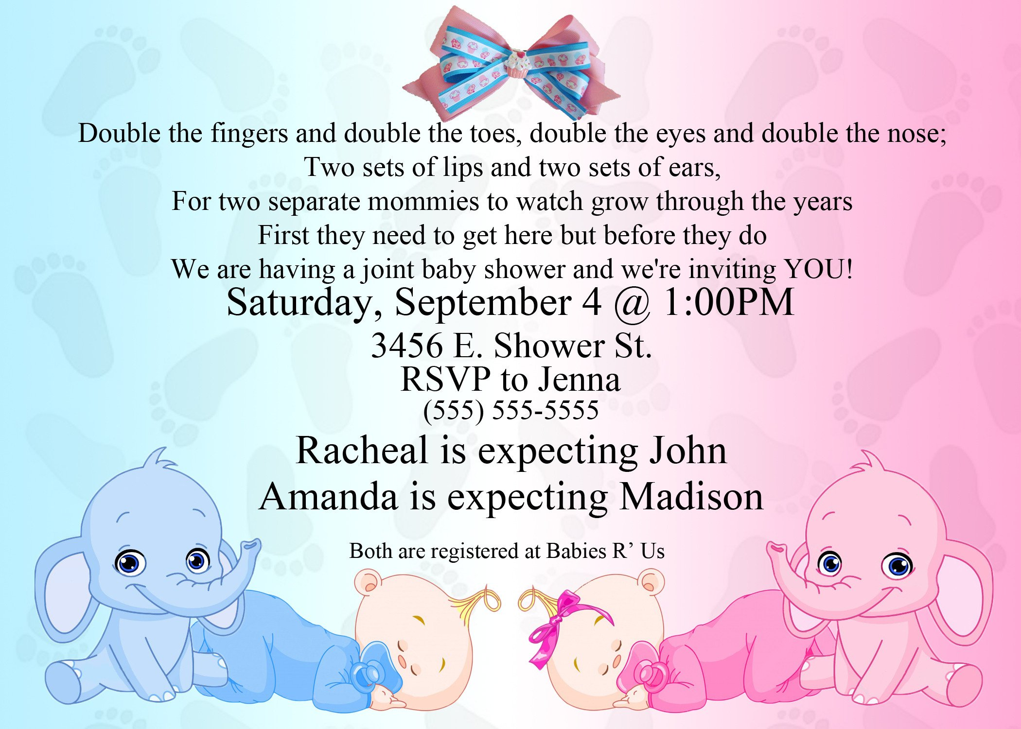 Baby Shower Invite Templates Feedback