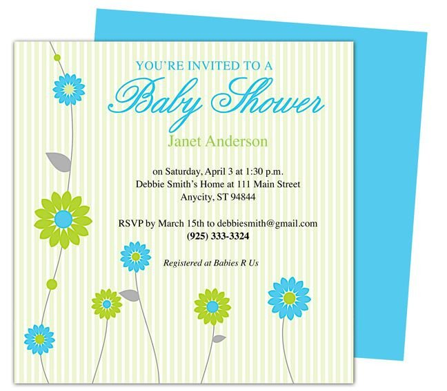 Baby Shower Template Word 42 Best Images About Baby Shower Invitation Templates On