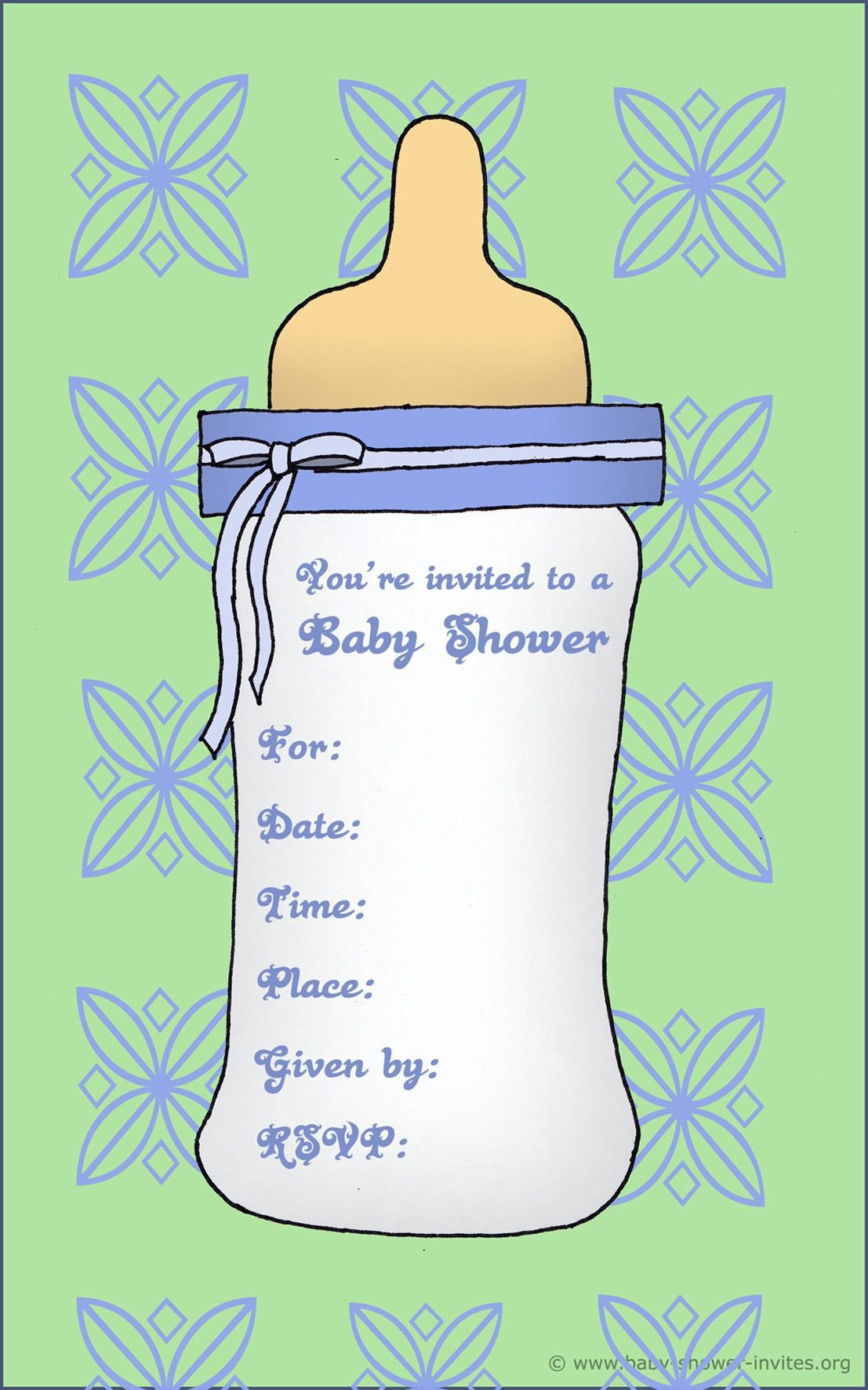 Baby Shower Template Word Free Baby Invitation Template Free Baby Shower