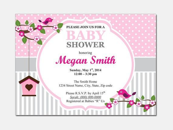 Baby Shower Template Word Free Free Baby Shower Invitations Templates for Word