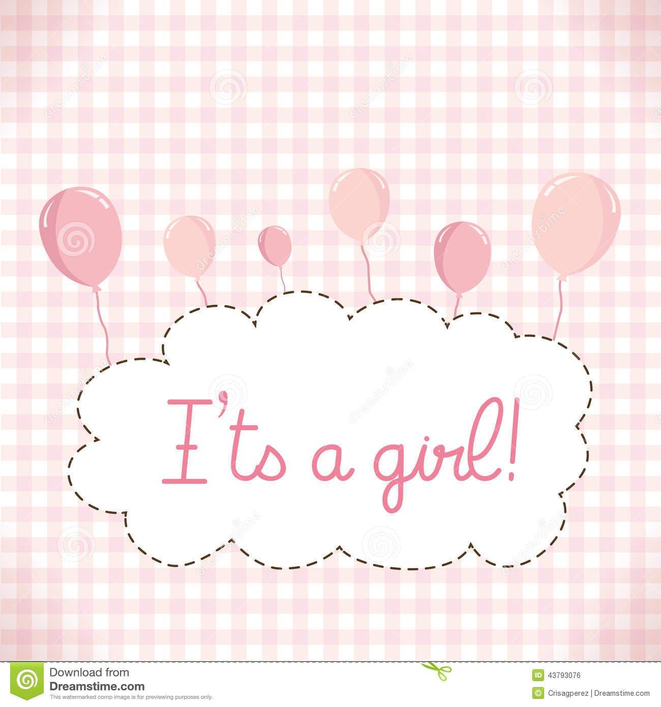 Baby Shower Templates Girl Baby Girl Invitation Templates