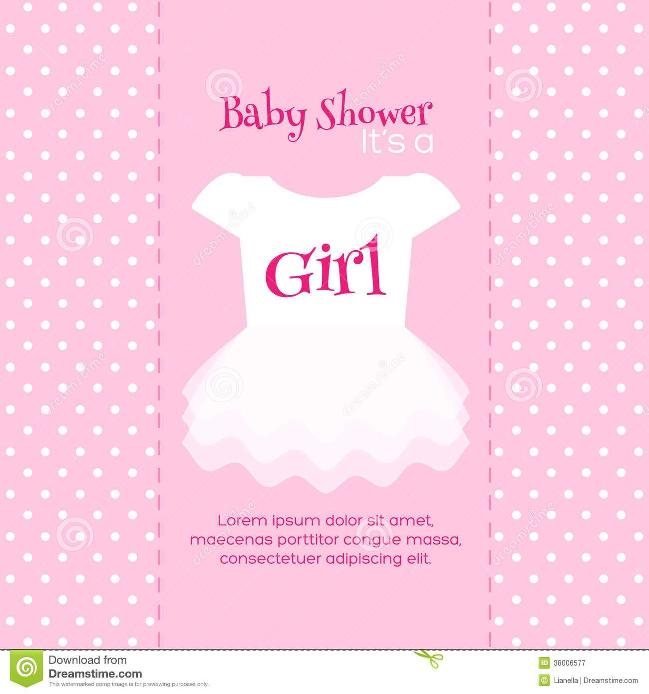 Baby Shower Templates Girl Design Free Printable Baby Shower Invitations for Girls