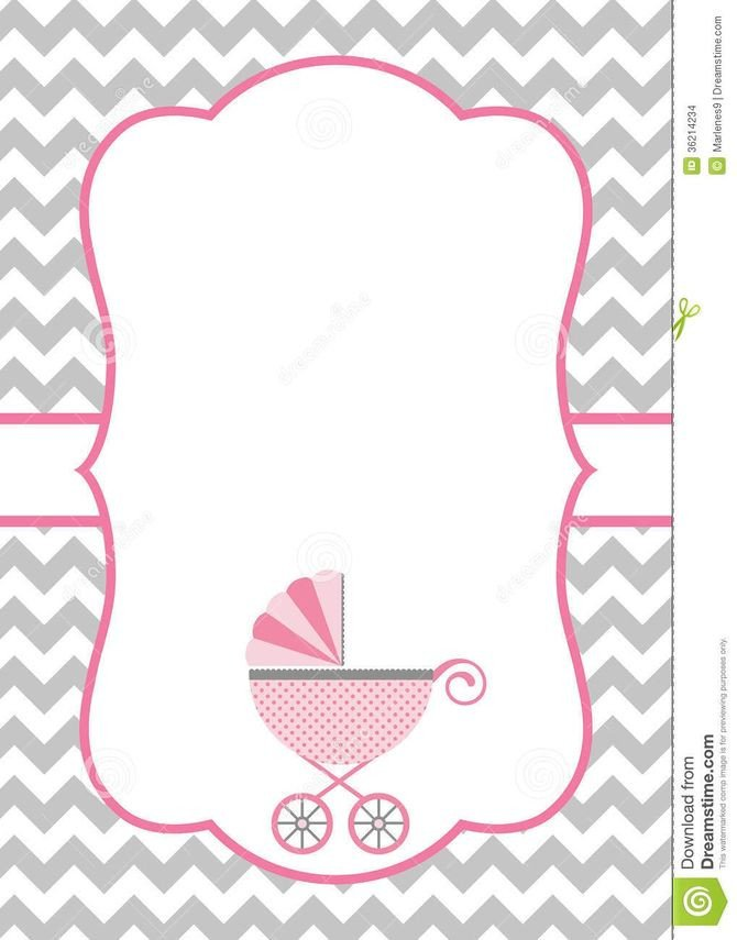 Baby Shower Templates Girl How to Make A Baby Shower Invitation Template Using
