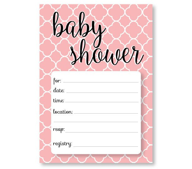 Baby Shower Templates Girl Printable Baby Shower Invitation Templates Free Shower