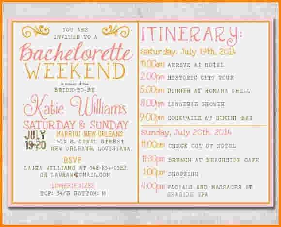 Bachelorette Itinerary Template Free 17 Best Ideas About Bachelorette Itinerary On Pinterest