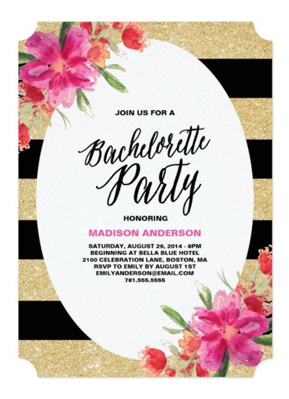 Bachelorette Party Invitation Template 32 Bachelorette Invitation Templates Psd Ai Word