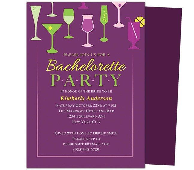 Bachelorette Party Invitation Template Printable Diy Bachelorette Party Invitations Templates