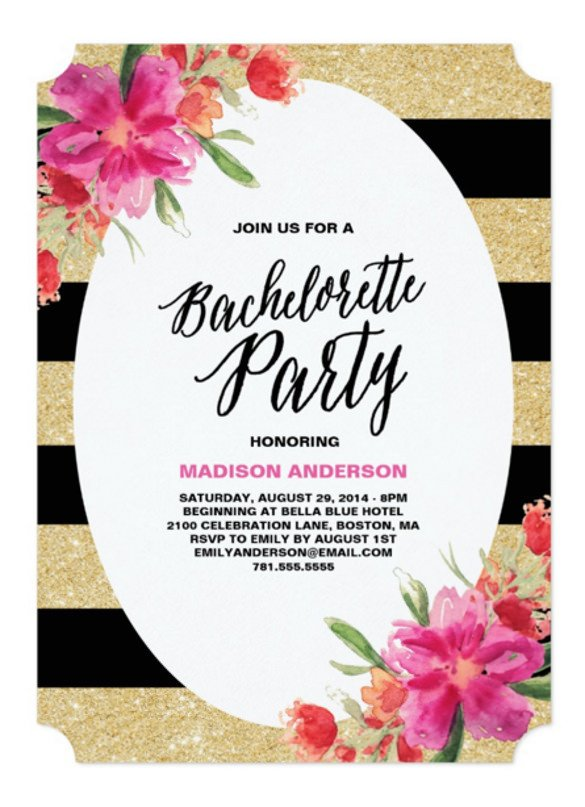 Bachelorette Party Invitation Templates 32 Bachelorette Invitation Templates Psd Ai Word