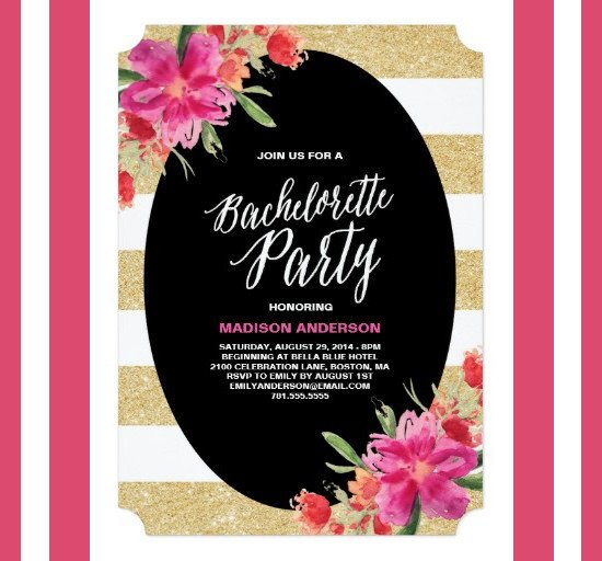 Bachelorette Party Invitation Templates 41 Bachelorette Invitation Templates Psd Ai