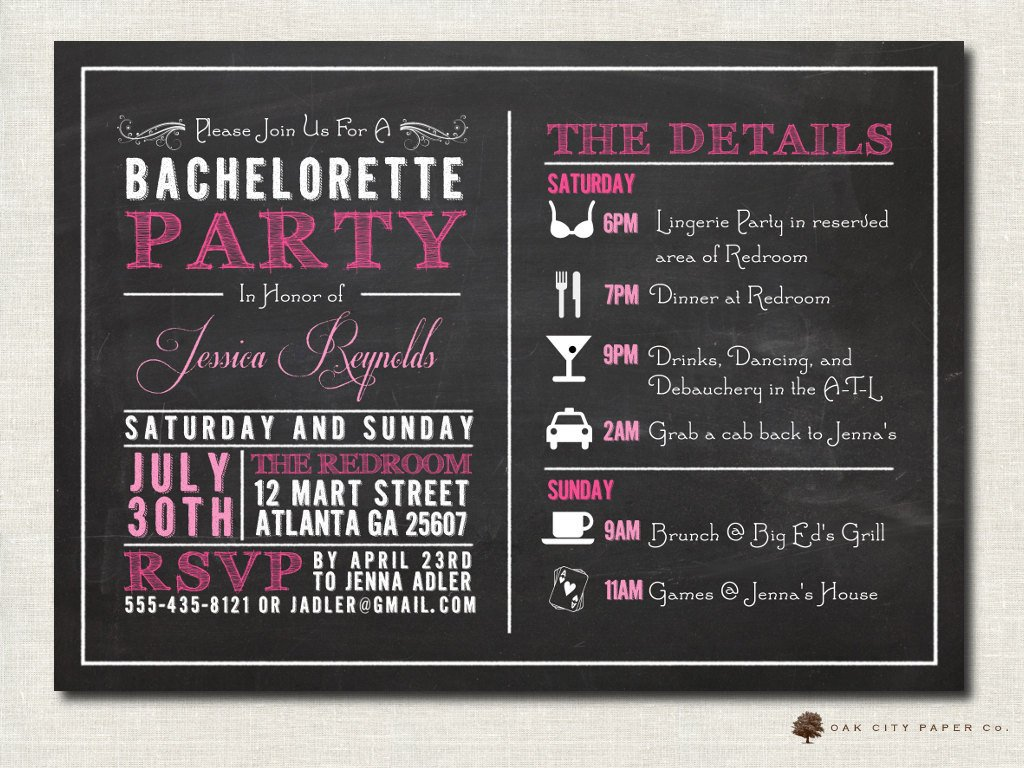 Bachelorette Party Invitation Templates Bachelorette Invitation Bachelorette Party Invitation