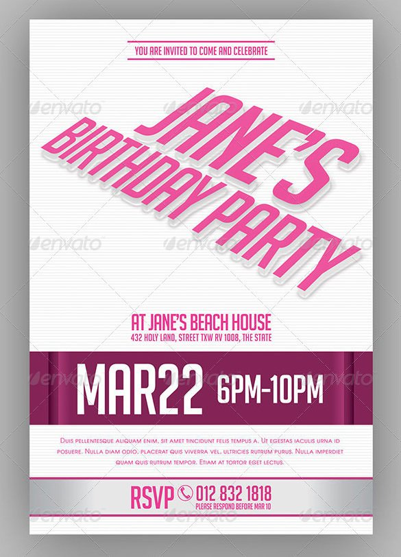Bachelorette Party Invitations Template Free 41 Bachelorette Invitation Templates Psd Ai