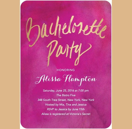 Bachelorette Party Invitations Template Free Bachelorette Invitation Template – 35 Free Psd Vector
