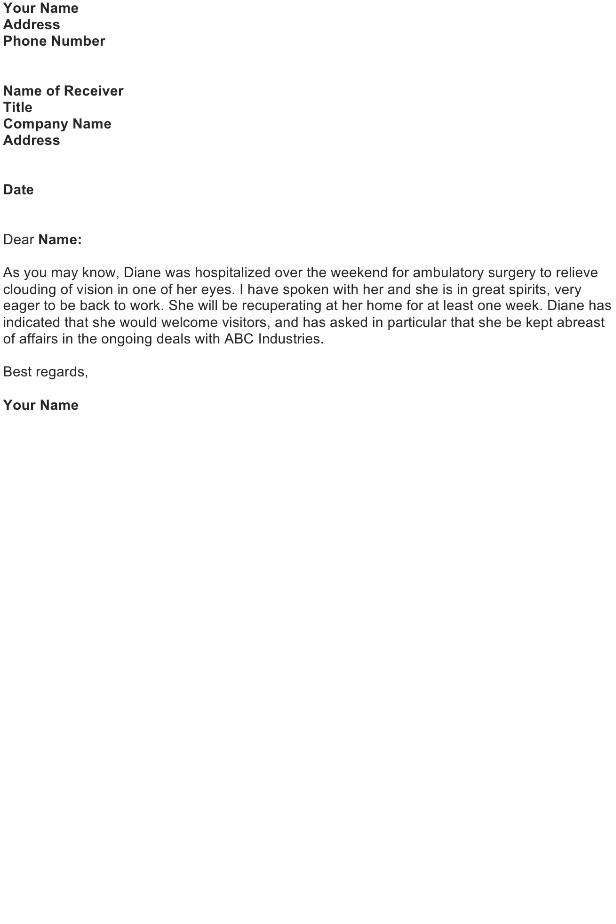 Bad News Letter Template Sympathy Letter Sample Download Free Business Letter