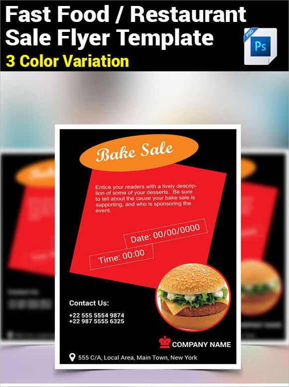 Bake Sale Flyer Template 21 Bake Sale Flyers Templates Publisher Psd Ms Word