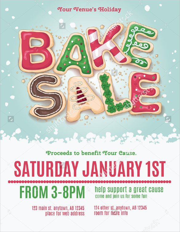 Bake Sale Flyer Template 24 Bake Sale Flyer Templates Indesign Apple Pages