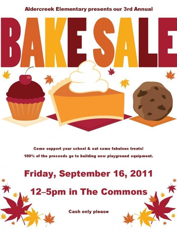 Bake Sale Flyer Template Bake Sale Flyer Template