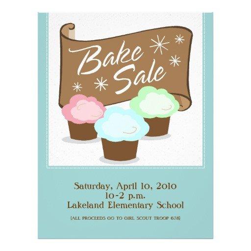Bake Sale Flyer Template Bake Sale Flyers