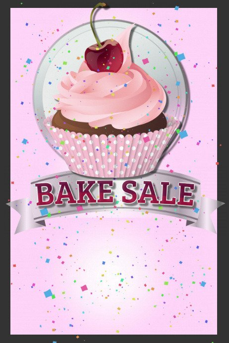 Bake Sale Flyer Template Bake Sale Template