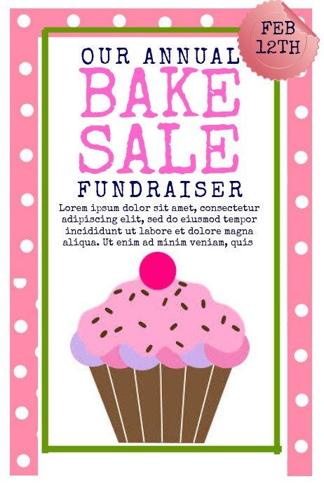Bake Sale Flyer Template Copy Of Bake Sale