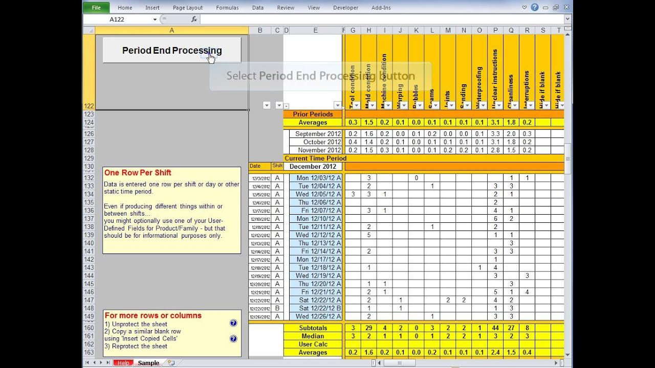Balanced Scorecard Excel Template Scorecard Excel Template