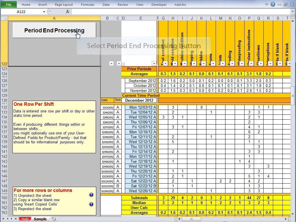 Balanced Scorecard Template Excel 2017