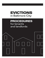 Baltimore City Eviction Notice form Free Landlord Rental forms for Real Estate