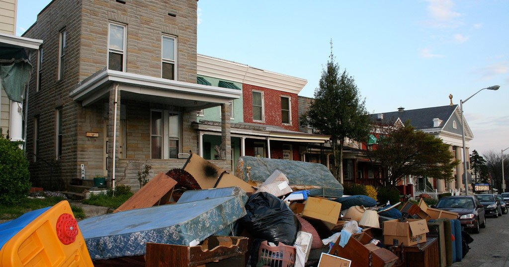 Baltimore City Eviction Notice form the Violence Of Eviction