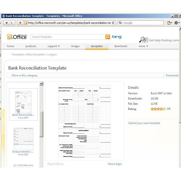 Bank Reconciliation Excel Template Use A Microsoft Excel Reconciliation Template to Help Your