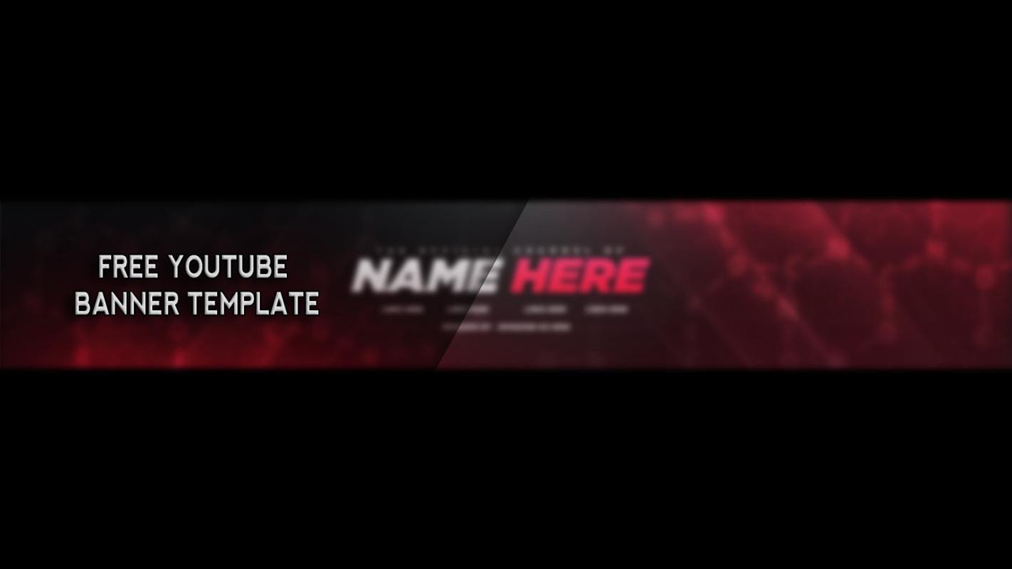 Banner Template No Text Free Youtube Banner