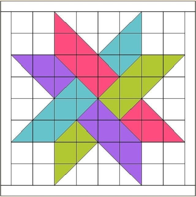 Barn Star Template 105 Best Barn Quilt Templates Images On Pinterest