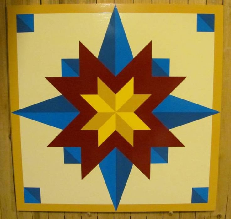 Barn Star Template 188 Best Barn Quilts to Paint Images On Pinterest