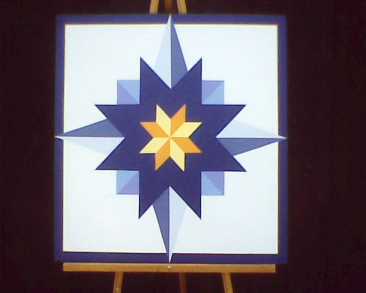 Barn Star Template 2 X 2 Barn Quilt Star Pattern