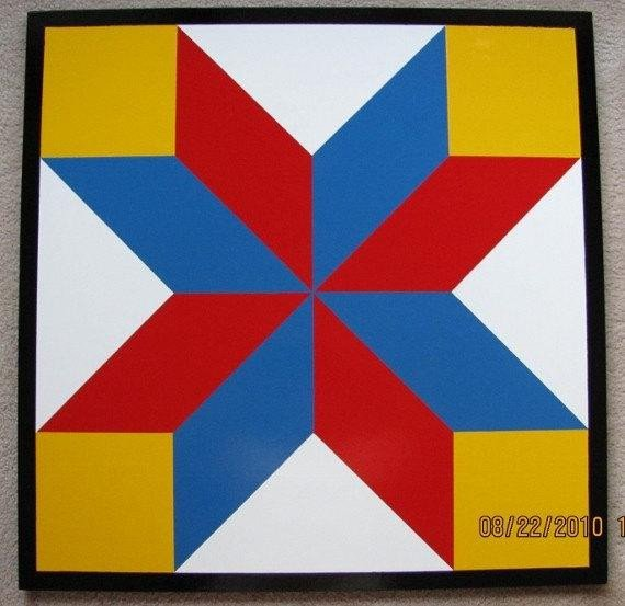 Barn Star Template Barn Quilt 8 Pointed Star Pattern 2 X2