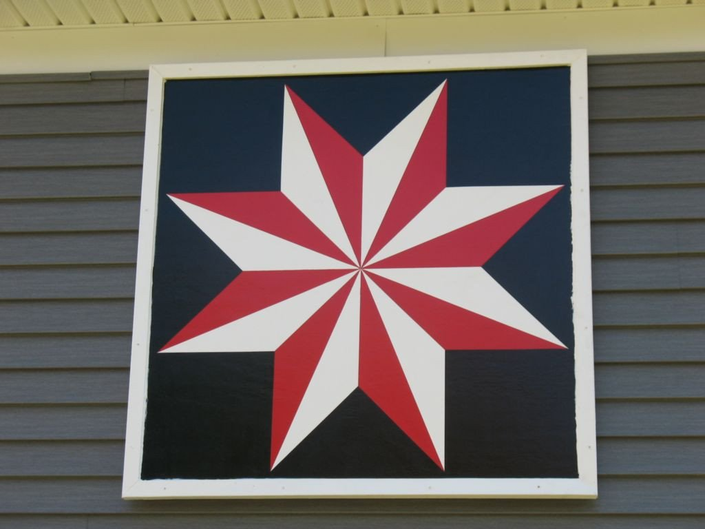 Barn Star Template Lemoyne Star