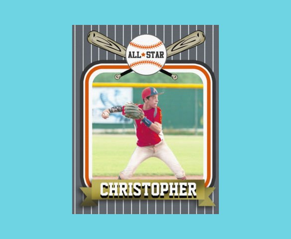 Baseball Card Template Free 33 Trading Card Template Word Pdf Psd Eps