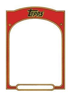 Baseball Card Template Free Baseball Card Templates Free Blank Printable