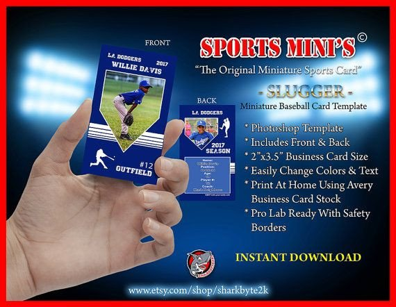 Baseball Card Template Photoshop 124 Best Images About Shop Templates & Designs On