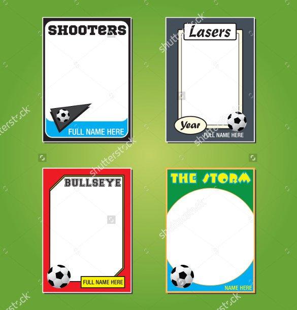 Baseball Card Template Word 33 Trading Card Template Word Pdf Psd Eps