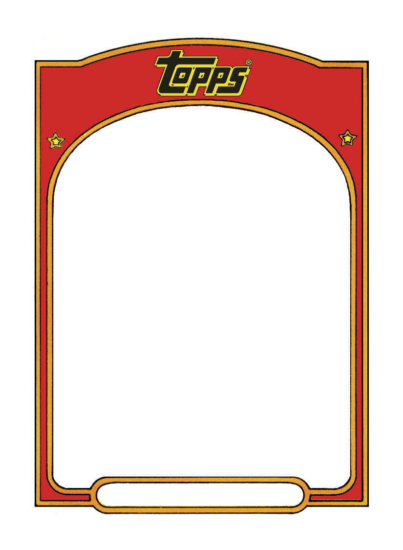 Baseball Card Template Word Sports Trading Card Templet Craft Ideas