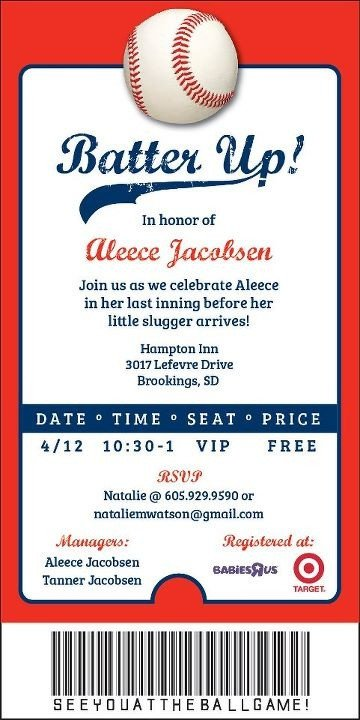 Baseball Invitation Template Free 22 Best Cjo Baseball Game Images On Pinterest