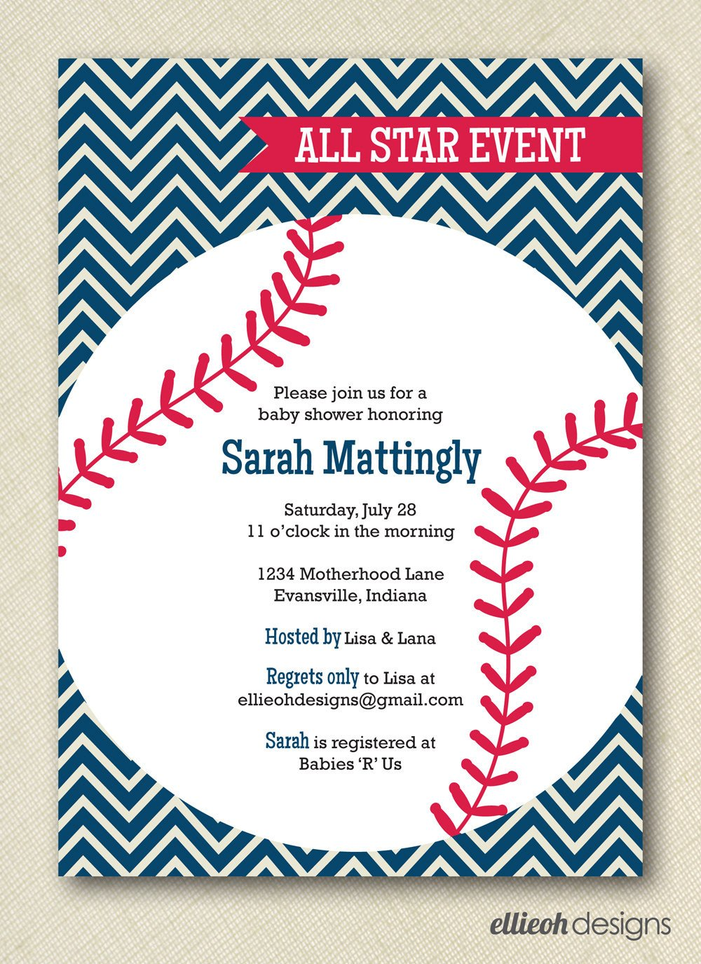 Baseball Invitation Template Free Free Printable Baseball Birthday Invitations – Free