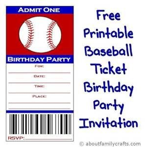 Baseball Invitation Template Free Free Printable Baseball Invitation Templates Bing Images