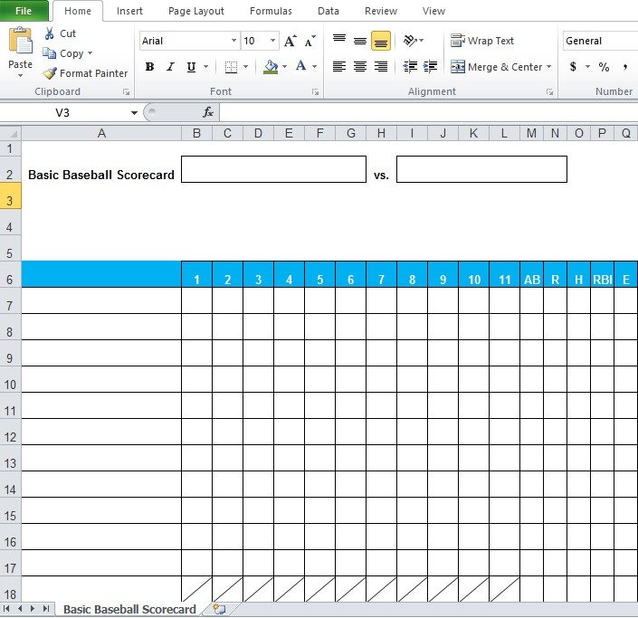 Baseball Stats Excel Template Baseball Stats Spreadsheet Excel Template Excel Tmp