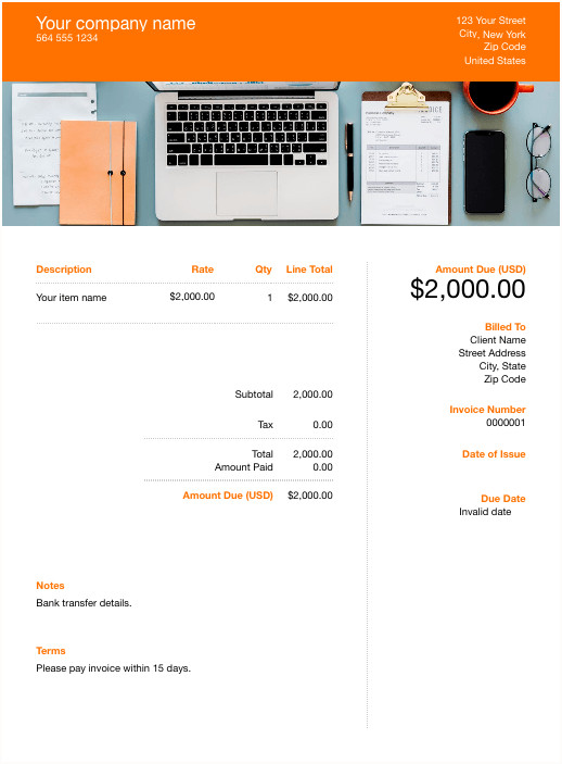 Basic Invoice Template Google Docs Free Google Sheets Template Download & Customize
