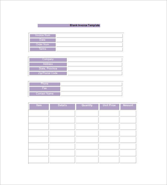 Basic Invoice Template Google Docs Google Invoice Template 25 Free Word Excel Pdf format
