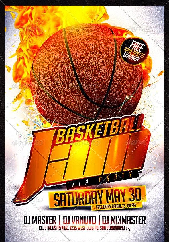 Basketball Flyer Template Free 31 Basketball Flyers Psd Ai Vector Eps