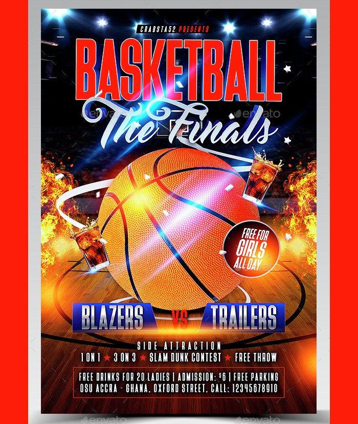 Basketball Flyer Template Free 36 Basketball Flyer Psd Templates Free & Premium Designyep