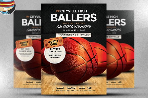 Basketball Flyer Template Free Basketball Flyer Template 24 Download Documents In Pdf