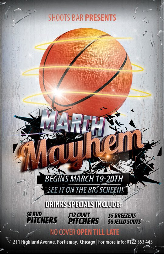 Basketball Flyer Template Free Free Basketball Flyer Templates On Behance