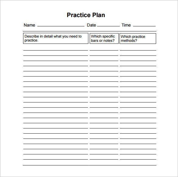 Basketball Practice Plan Template 15 Practice Schedule Templates Word Excel Pdf